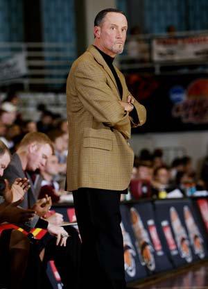 Oak Hill head coach Steve Smith