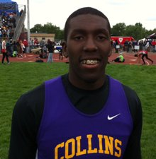 Fort Collins senior Raymond Bozmans won all three sprint events at the Class 5A state track meet.