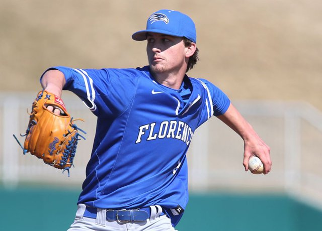 Brax Garrett pitched nine scoreless innings for Florence (Ala.), including eight innings during the NHSI, to be named the Southeast USA Baseball/MaxPreps Pitcher of the Week.