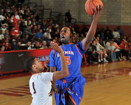 Bishop Gorman's Shabazz Muhammad poured in 41 points as the Gaels beat Whitney Young 69-50.