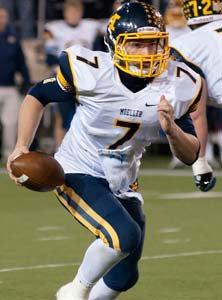 Moeller quarterback Spencer Iacovone.