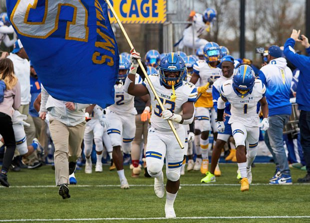 Oscar Smith turned around a loss in the 2019 VHSL Class 6 title game with a resounding 65-21 win over the Stallions on Saturday.