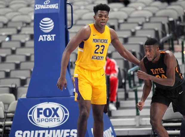 Day'Ron Sharpe is one of six five-star prospects on the Montverde Academy roster.
