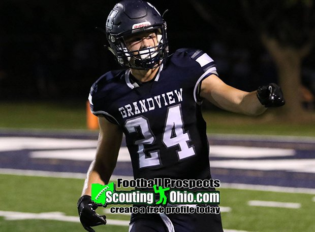 Grandview Heights senior tight end Luke Lachey currently holds 22 offers, including SEC, Big Ten and Big 12 schools.