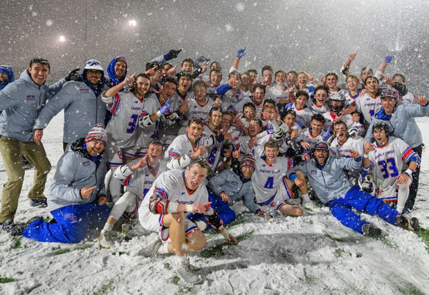 Cherry Creek had never won a championship in the snow like this before.