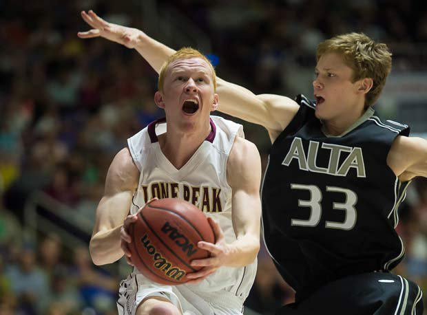 T.J. Haws is back for Lone Peak, and he's continuing to grow as a leader and player in the quest for a fourth-straight state title.