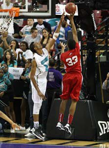 Pleasant Grove's Marquese Chriss  scores over Marcus Lee