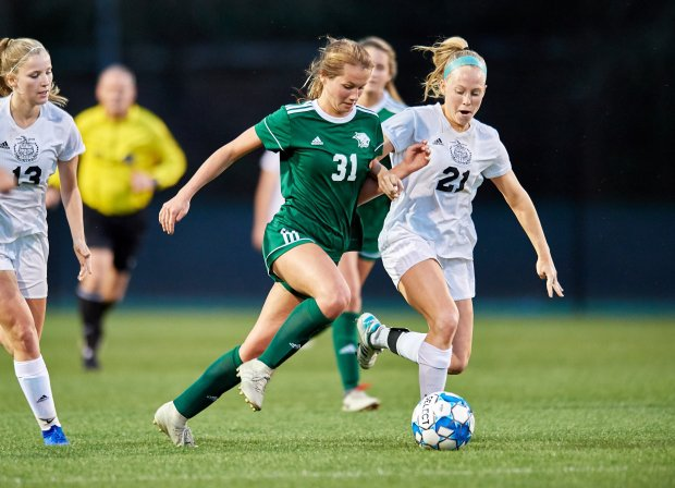 Tori Penn has piled up 82 goals in three seasons at Westminster.