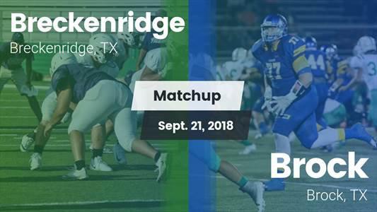 Football Game Recap: Brock vs. Breckenridge