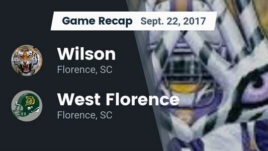 Football Game Preview: North Myrtle Beach vs. Wilson