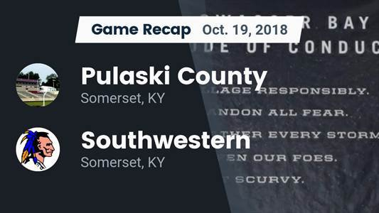 Football Game Recap: Southwestern vs. Pulaski County