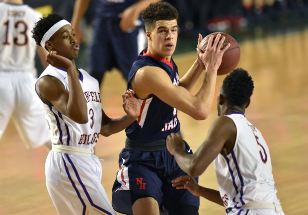 Michael Porter Jr. led Nathan Hale past Garfield in Washington's 2017 Class 3A state title game.