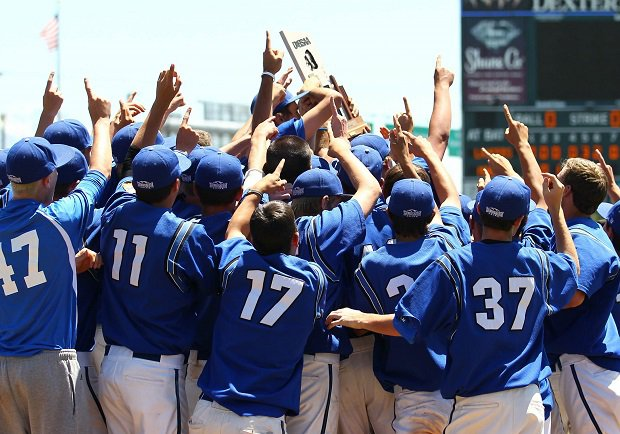 Bingham celebrates its 2013 Utah state title, one of 21 won by the school.