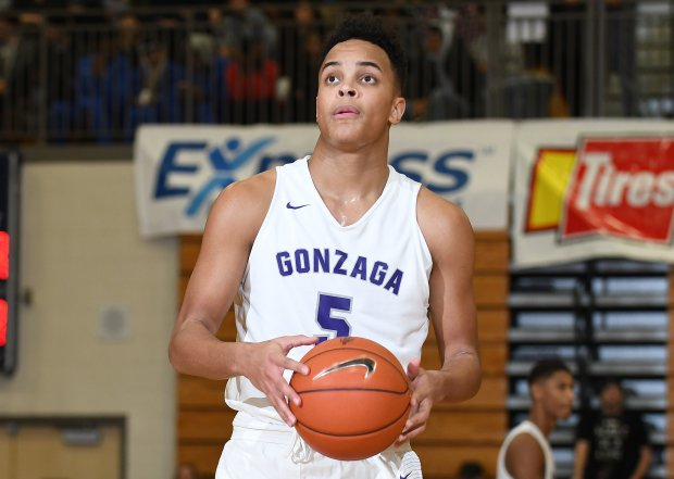 Terrance Williams contributed to a Gonzaga team that won 32 games and finished ranked No. 8 nationally by MaxPreps.