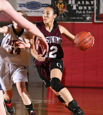 Saniya Chong has scored 1,936 points in her career and she has another season to go.