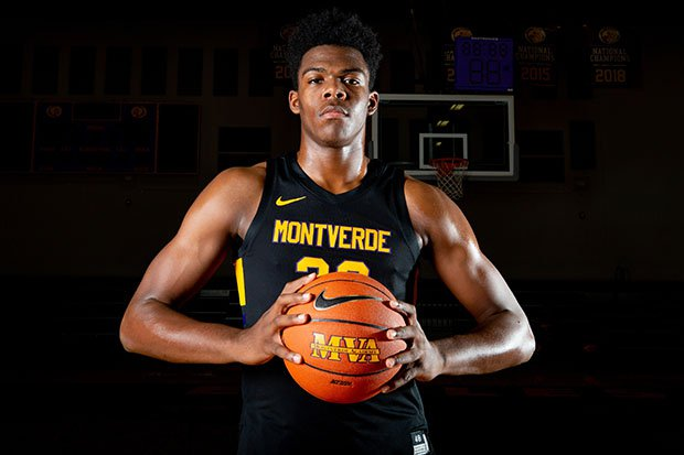 Day'Ron Sharpe is one of four players from the 2019-20 Montverde Academy hoping to be taken in the first round of Thursday's NBA Draft.