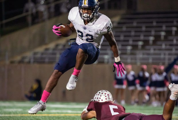 EJ Smith scored four more touchdowns on Friday night.