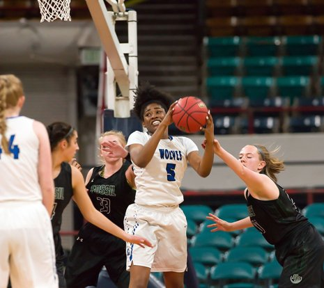 Highlands Ranch is the top seed in the Class 5A state tournament, but Alisha Davis (5) and Grandview are the two-time defending champions. The 5A Final 4 opens Thursday at the Denver Coliseum.
