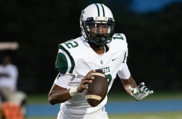 Maurice Underwood accounted for five touchdowns Friday night as Miami Central rolled past St. Thomas Aquinas in a battle of nationally-ranked South Florida powers.