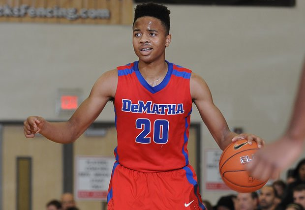 Markelle Fultz while at DeMatha.