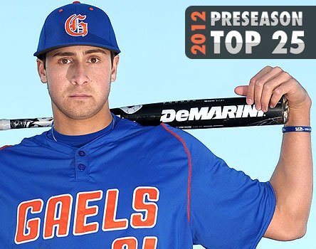 Joey Gallo and Bishop Gorman are the top dogs in the Xcellent 25 right now. Where they finish will depend on success in Nevada (likely) and at prestigious tournaments.