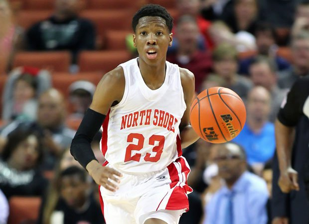 Texas verbal commit Kerwin Roach led North Shore in the scoring column as a junior at 16.1 points per game.