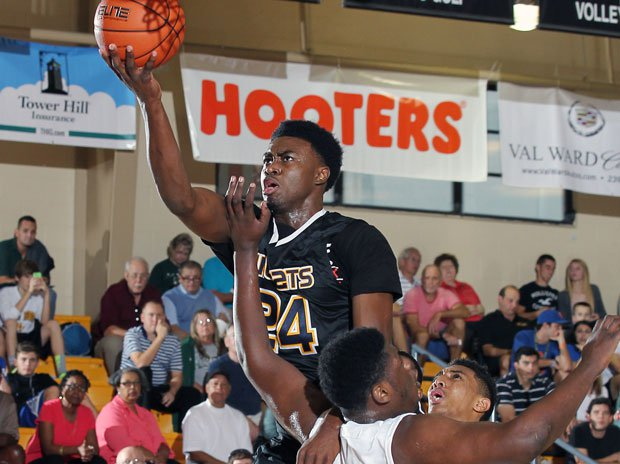 Star senior Jaylen Brown hopes to finish his career by giving Wheeler a sixth state title under head coach Doug Lipscomb.