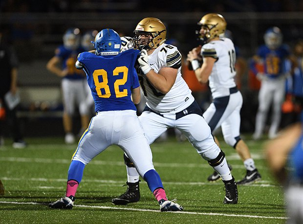 Hoban senior Nolan Rumler is ranked the third overall senior prospect in Ohio regardless of division according to the 247sports.com composite rankings. He is committed to Michigan.