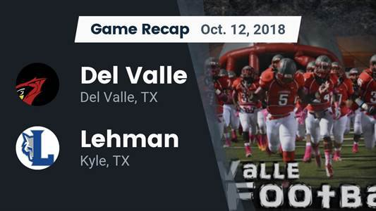 Football Game Preview: Westlake vs. Del Valle