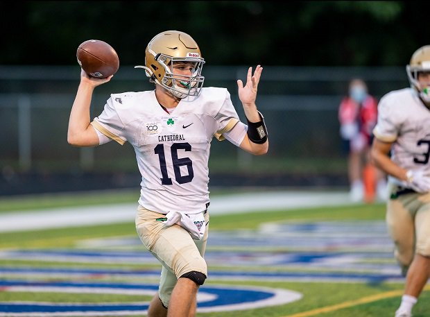 High School Football Schedule Indiana Showdown Between Center Grove Cathedral Headlines Week S Top Games Maxpreps