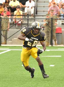 Colquitt County High's Tevin King.