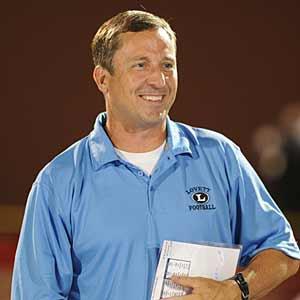 Coach Mike Muschamp.