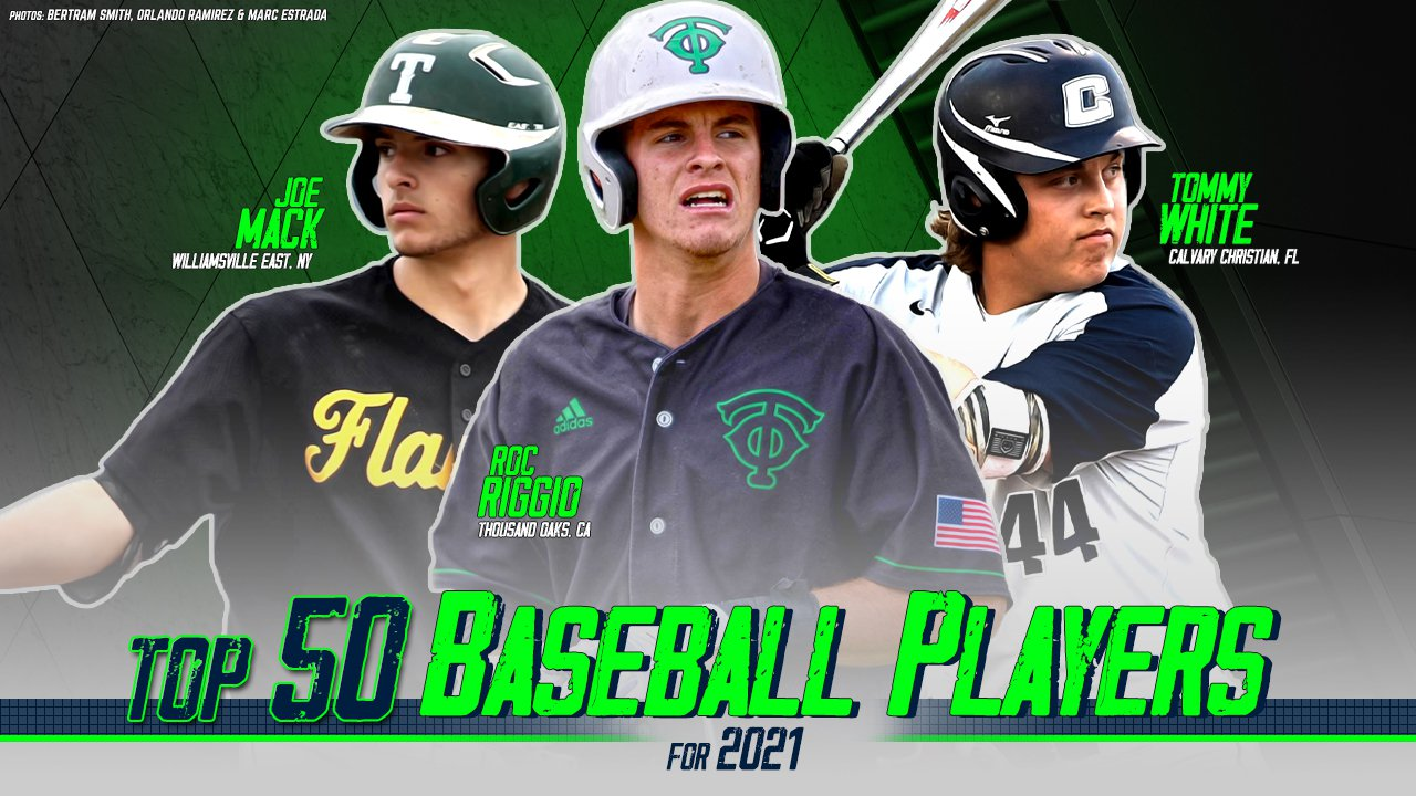 Best Mlb Players 2021 Top 50 high school baseball players in the Class of 2021   MaxPreps