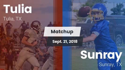 Football Game Recap: Sunray vs. Tulia
