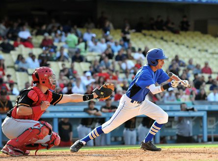 The bunt is making its way back into baseball as changes in metal bat rules have caused managers to rethink strategy.