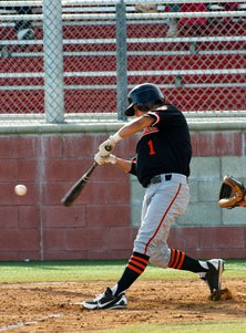 Hitters like Brett Urabe of HuntingtonBeach (Calif.) will notice that ballsdon't come off bats as fast.