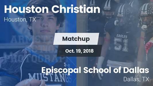 Football Game Recap: Houston Christian vs. Episcopal School of Dallas