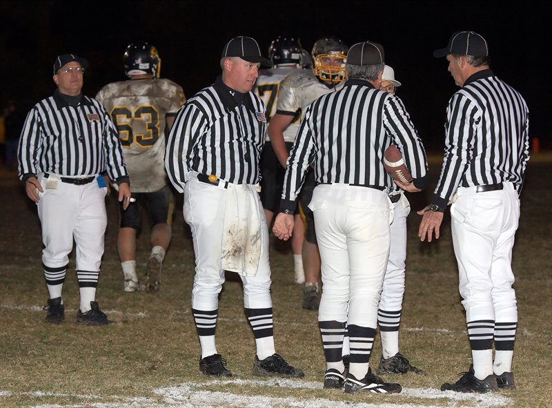 Referee shortages are starting to happen across the country, affecting game schedules.