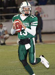 Bono accounted for eight of Palo Alto's 10 TDs in the postseason.