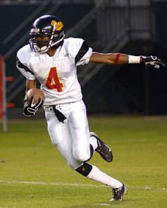 Richard Sherman scored 12 touchdowns on just 48 receptions as a senior for Dominguez in 2005.