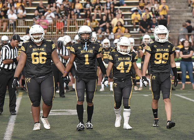 Mililani finished 8-5 in 2019 and reached the Hawaii Division I Open Division semifinals.