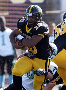 Hardy Nickerson Jr. also was a  powerful fullback for Bishop O'Dowd this season.