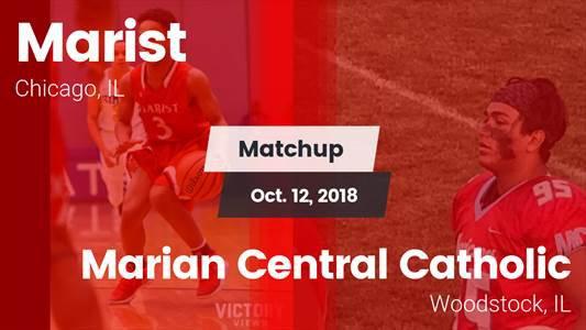 Football Game Recap: Marist vs. Marian Central Catholic