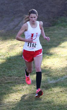 Holland Reynolds has been University's  No. 1 or 2 runner all season.