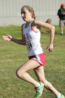 University senior Bridget Blum placed second overall at last week's NCS championships.