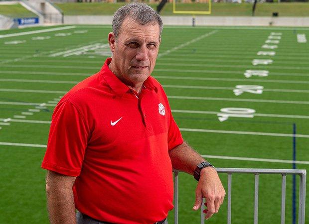 Head coach Gary Joseph