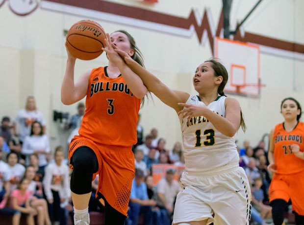McKenzie Hahn was a model of consistency, averaging 14.4, 14.4 and 14.2 points per game her final three seasons at Orange Grove.