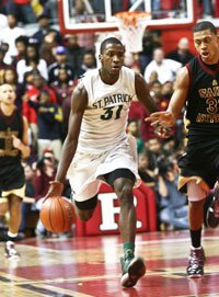 Michael Kidd-Gilchrist was the star of the 2010-11 St. Patrick Celtics.