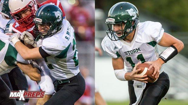 Stuart Bledsoe (left) and John Bledsoe are sons of former NFL quarterback great Drew Bledsoe.