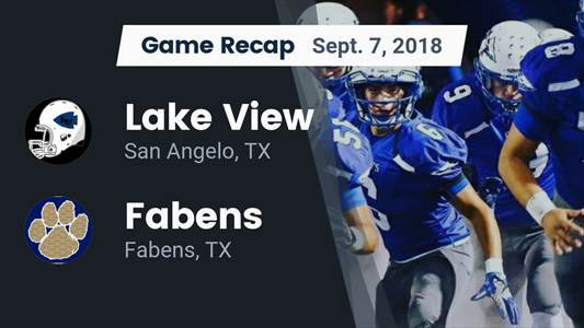 Football Game Recap: Cathedral vs. Fabens